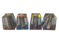 BUTTGL1. Etched Glass Snuffer (24PC)