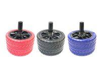 ASHSTIRE. Tire Design Spin Top Ashtray (3PC)