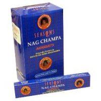 NAGCHAMPA1. Nag Champa Incense Sticks (12PC)