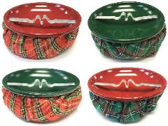 ASH11CH Bean Bag Ashtray W/ Special Holiday Color Top (12PC)