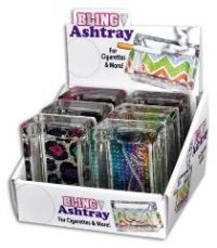 ASHBB Studded Bling Ashtray (6PC)