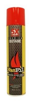 BT5F 10oz / 300mL FasFill 5X Refined Butane Refill (12PC)