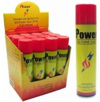 BTUP 10oz / 300mL Power Ultra Refined Butane Refill (12PC)