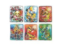3102L20TAT2 Tattoo Designs Leather Wrapped Holds 20 Cigarettes King Size