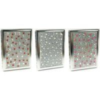 31012ST20P. Studded Pearl Design Metal Cigarette Case (12PC)