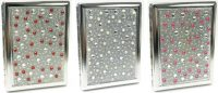 3101ST20P Studded Pearl Designs Holds 20 Cigarettes 100s Size (12PC)