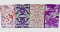 3115CPINK Pink Camouflage Designs Plastic Cigarette Case 100s Size Flip Open (12PC)