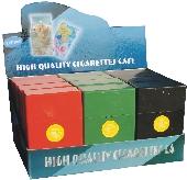 3115S Solid Plastic Cigarette Case 100s Size, Flip Open (12PC)