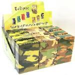 3116C2 Camouflage Designs Plastic Cigarette Case (12PC)