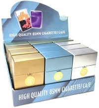 3116GS Metallic Gold & Silver King Size Push Open (12PC)
