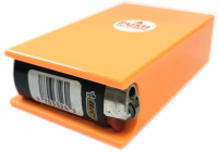 3116LC Plastic Cigarette Case W/ Lighter Holder (12PC)