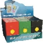 3117S Solid Plastic Cigarette Case 100s Size, Push Open  (12PC)