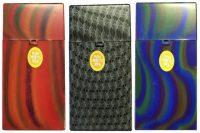 3117D1 Mixed Designs Plastic Cigarette Case 100s Size Push Open (12PC)