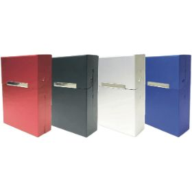 3118. King Size Aluminum Cigarette Cigarette Case (12PC)