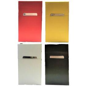 3119. 100s Size Aluminum Cigarette Case (12pc)