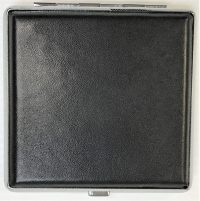 3102L20BK Black Leather Wrapped Holds 20 Cigarettes King Size (12PC)