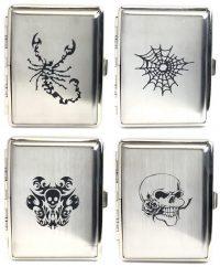 3102PICT. Metal Cigarette Case (12PC)
