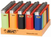 BICMINI Assorted Designs Disposable BIC Lighter (50PC) (Need Price)