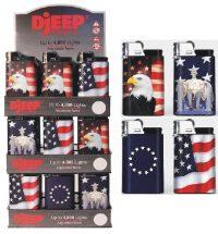 DJEEPSTARS. Patriotic Lighter (36PC)