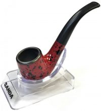 Pip108. Mini Marbleized Pipe (3PC)*