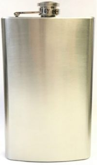 FL7OZ Stainless Steel Flask Holds Up To 7 oz (3PC) *