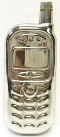 FLCELL Metal Flask Old School Cell Phone Design (6PC)