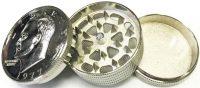 GR3COINLG Large Metal Grinder Coin Design (12PC)