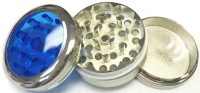 GR3CT Clear Top Metal Grinder Assorted Colors (6PC)