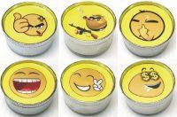 GR3EMOJI Metal Grinder Assorted Emoji Designs (12PC)
