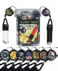 LEASH6 Grunge Lighter Leash (30PC)
