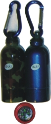 1594 Canteen Bottle Design W/ Compass; Windproof Jet Flame (12PC)