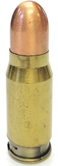 1462 Round Bullet Design Novelty Lighter (12PC)