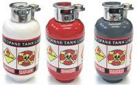 1535-1. Butane Tank Design Novelty Lighter (18PC)