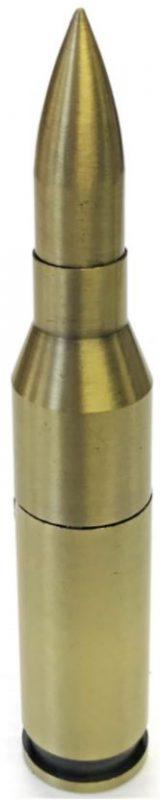 1587-1 5.75″ Long Bullet Design Windproof Jet Flame (16PC)