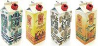1597 Drink Carton Design Regular Flame (18PC)