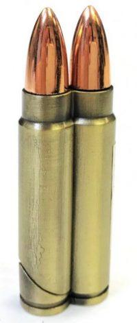 1614-1 Double Bullet Design Regular Flame  (25PC)