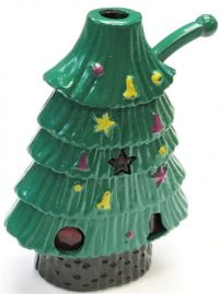 1655 Christmas Tree Design W/ Sound & Lights; Regular Flame (24PC)