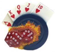 1785 Dice Card Design Regular Flame (12PC)