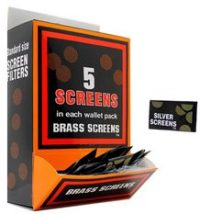 SCREENB Brass Tobacco Pipe Screen Fits All Of Our Tobacco Pipes (BOX)