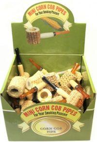 PIPC1. Mini Corn Cob Pipe (36PC)