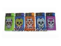 1274WCSK Wide Body Candy Skull Design Electronic Refillable  (30PC)