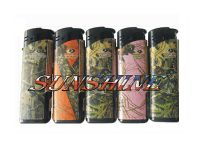 1274WPM Windproof Mossy Oak Designs Electronic Refillable  (50PC)