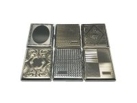 3101. Metal Cigarette Case, Band Style 100's (12PC)