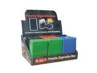 3113S. Solid Plastic Cigarette Case (12PC)