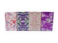 3114CPINK Pink Camouflage Designs King Size Flip Open Plastic Cigarette Case (12PC)
