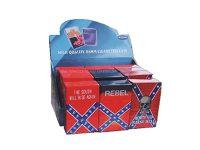 3114REB Rebel Designs Plastic Cigarette Case King Size, Flip Open (12PC)