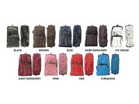 3212Z-ALLCOLOR. Deluxe Full Leather Cigarette Case; 120s (12PC)