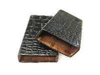 3362 Croco Cedar Lined Vinyl Cigar Case (3PC)*