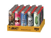 BICDESIGN Assorted Designs Disposable BIC Lighter (50PC) (Need Price)