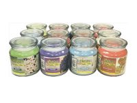 #CANDLE15oz 15 oz Smoker's Candle Assorted Scents (12PC)